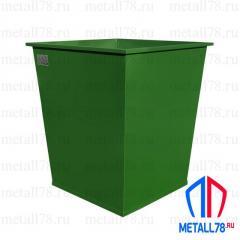 Контейнер для мусора 0,75 м3 в комплектации «Базовая»