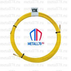 Протяжка для кабеля 3,5 мм 25 м (протяжка кабельная, мини УЗК)