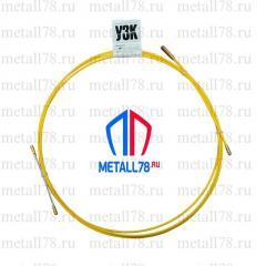 Протяжка для кабеля 3,5 мм 1 м (протяжка кабельная, мини УЗК)
