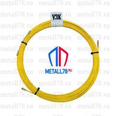 Протяжка для кабеля 4,5 мм 15 м (протяжка кабельная, мини УЗК)