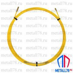 Протяжка для кабеля 6 мм 15 м (протяжка кабельная, мини УЗК)