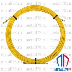 Протяжка для кабеля 6 мм 30 м (протяжка кабельная, мини УЗК)