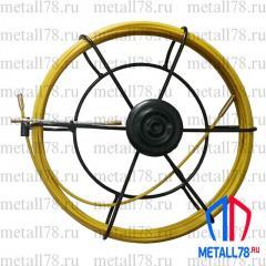 Протяжка для кабеля 3,5 мм 25 м в малой кассете (протяжка кабельная, мини УЗК)