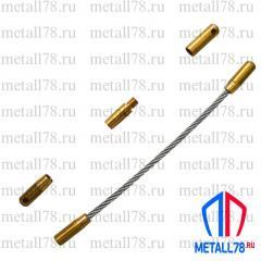 Протяжка для кабеля 3,5 мм 45 м на основании Single+max (протяжка кабельная, мини УЗК)