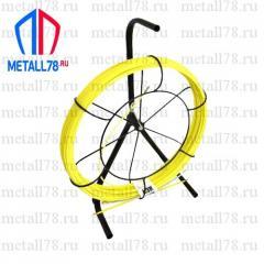 Протяжка для кабеля 3,5 мм 50 м на основании Single+max (протяжка кабельная, мини УЗК)