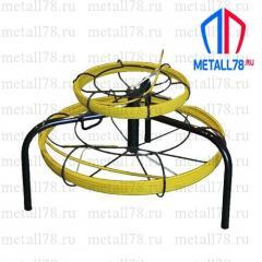 Протяжка для кабеля 3,5/3,5 мм 25/25 м на основании Spider-Double (протяжка кабельная, мини УЗК)