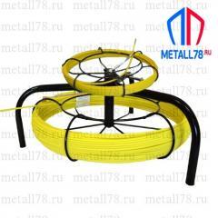 Протяжка для кабеля 3,5/4,5 мм 25/125 м на основании Spider-Double (протяжка кабельная, мини УЗК)