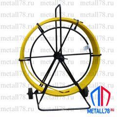 Протяжка для кабеля 11 мм 100 м на тележке &quot-Компакт&quot- (протяжка кабельная, УЗК)