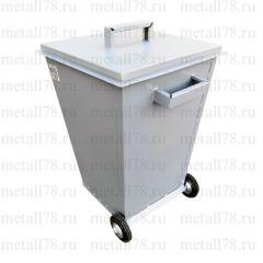 Контейнер для мусора 0,12 м3 (120 л) на колёсах