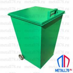 Контейнер для мусора 0,24 м3 (240 л) на колёсах