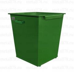 Контейнер для мусора 0,66 м3 в комплектации «Эконом»