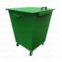 Контейнер для мусора 0,66 м3 в комплектации «Стандарт»