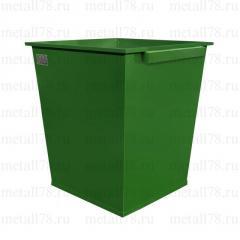 Контейнер для мусора 0,75 м3 в комплектации «Базовая Ф»