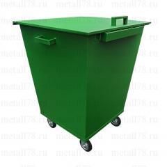 Контейнер для мусора 0,75 м3 в комплектации «Стандарт 160»