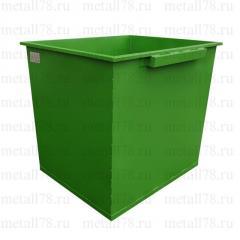 Контейнер для мусора 1,1 м3 в комплектации «Базовая Ф»