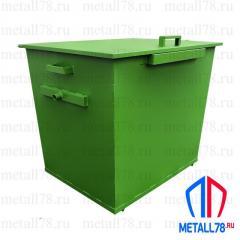 Контейнер для мусора 1,1 м3 в комплектации «Эконом»