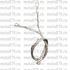 Поддерживающий кабельный чулок, разъемный, d = 10-20 мм, L = 400 мм, 2 петли