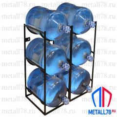Подставка для 6 бутылок с водой 19 л (бутылочница)