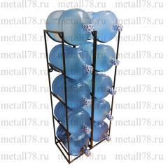 Подставка для 10 бутылок с водой 19 л (бутылочница)