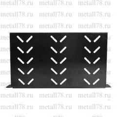 Полка консольная 19&quot- 1U гл.x 490 x 400 мм, перфорированная