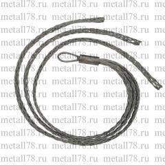 Тройной кабельный чулок для 3х кабелей, d = 30-40 мм, L = 1250 мм, 1 петля