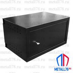 Шкаф антивандальный облегченный 9U 600*400