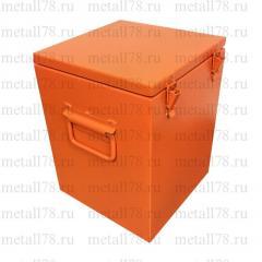 Контейнер металлический для электронных отходов