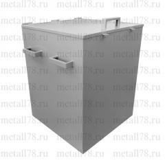 Контейнер металлический для ветоши