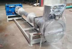 Одношнековый гранулятор полимеров с производительность 150 кг в час