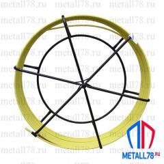 Протяжка для кабеля 11 мм 50 м в барабане (протяжка кабельная, УЗК)
