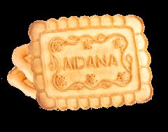 Сахарное печенье со вкусом ванили и сливок Айдана