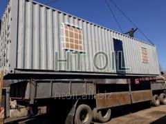 Блок модульный контейнерного типа под офис 12
