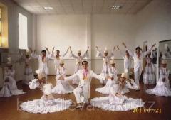 Костюмы для танца Казахский вальс