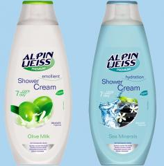 Alpin Weiss shower gel