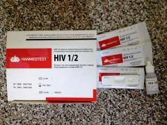 Экспресс тест для определения антител к вирусу
