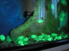 The pebble, stones Shining for the Aquarium