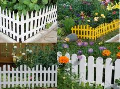 Decorative plastic small fences, Fence decorative