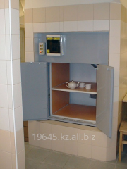 Kitchen elevators for cafe, dining rooms and
