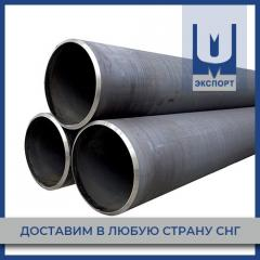 Pipes electric welded with round cross section