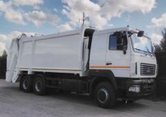 Мусоровоз МАЗ -6312, мусоровоз КО-427-97