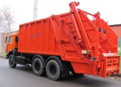 Мусоровоз Камаз-65115, мусоровоз КО-427-03,  объем