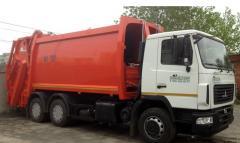Мусоровоз МАЗ-6312, мусоровоз КО-427-90
