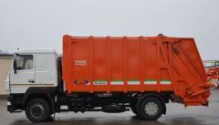 Мусоровоз МАЗ-5340С3 с задней загрузкой каркасный