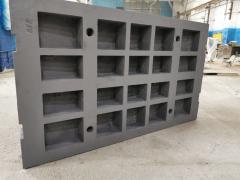 Подвижная плита ЦРМО-17.96-17.344, стальное литьё
