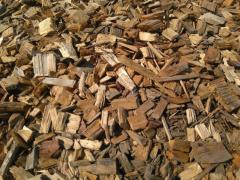 Wood chips, mulch, 75 l.