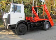 Мусоровоз МАЗ-5550, КО-450-10, объем 8 м3