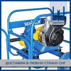 Мотопомпа дизельная Заря МОДН 120/70 (нержавейка)