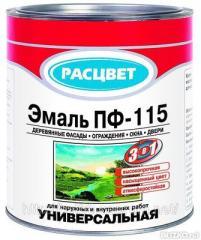 Эмаль ПФ-115 1 кг