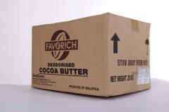 Cocoa oil dezoderirovanny
