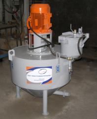 Установка для ячеистого пенобетона газобетона